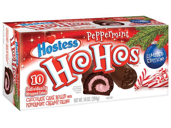 Ho Hos, Peppermint Ho Hos, Hostess
