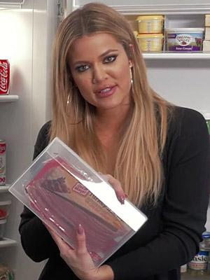 Khloe Kardashian refrigerator