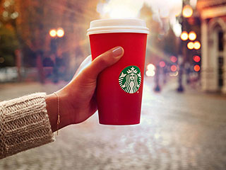Critics Say Starbucks' New Cups Are Another Volley in the 'War on Christmas'