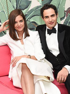 Katie Holmes and Zac Posen