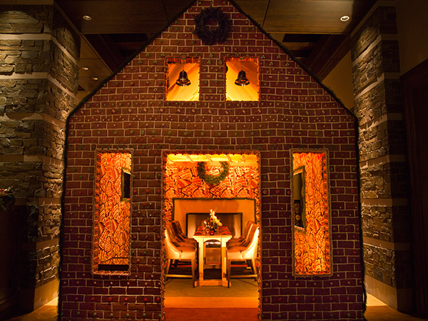 Gingerbread House Restaurant Opens In Ritz Carlton Lobby