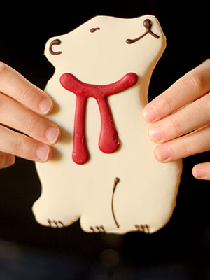 Starbucks Polar Bear cookies