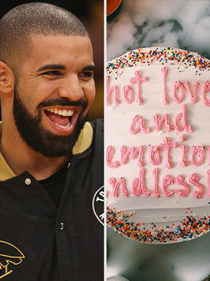 Drake on Cake Instagram