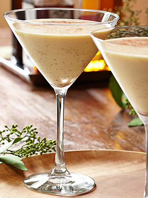 Eggnog Martini Recipes