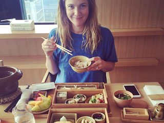 See the Best Celeb Food Photos of the Week from Drew Barrymore, Adam Levine & More