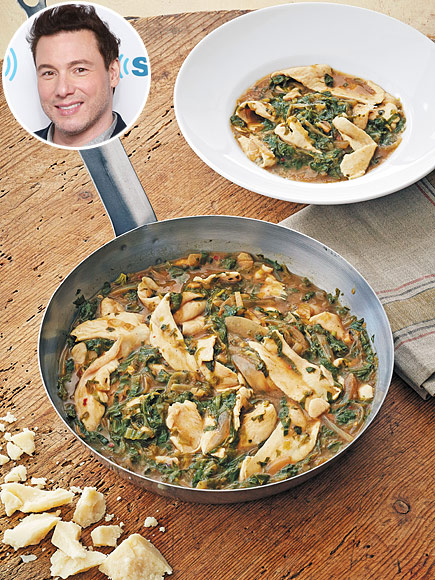 Rocco DiSpirito - Pappardelle of Chicken