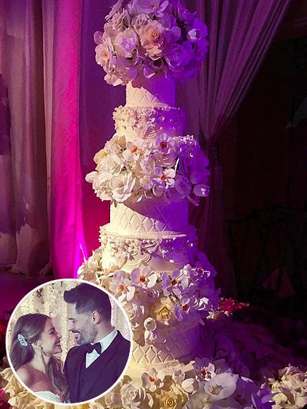 Celebrity Wedding Cake Sofia Vergara Joe Manganiello Jessica Simpson People