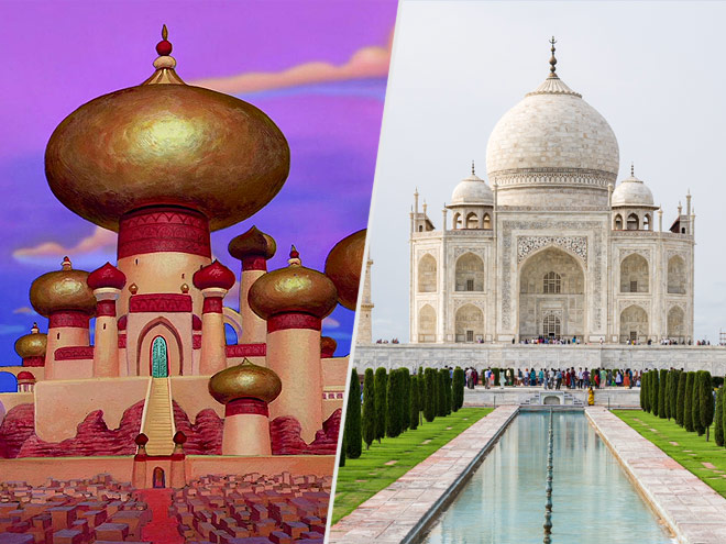 Disney movie locations you can visit for Aladdin indian cuisine