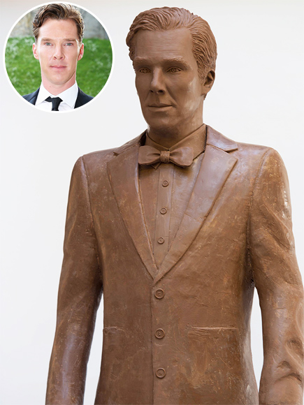 Chocolate Benedict Cumberbatch Statue
