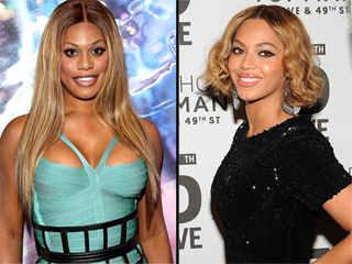 A Holiday Surprise From Beyoncé Sends Laverne Cox to the Floor