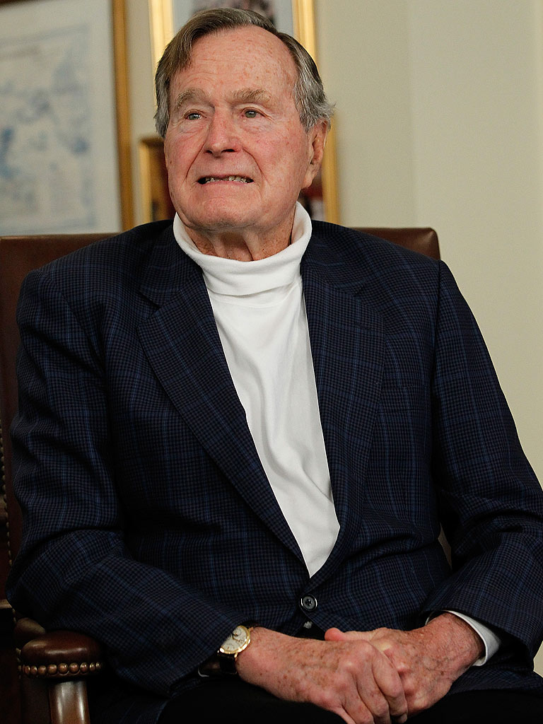 Former President George H.W. Bush Released from Hospital ...