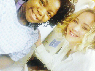 Jennifer Lawrence Brings Christmas Joy to Hometown Children's Hospital