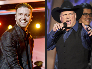 WATCH: Garth Brooks Joins Justin Timberlake on Stage to Sing 'Friends in Low Places'