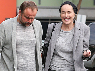 PHOTOS: Sharon Stone Spotted Kissing David DeLuise