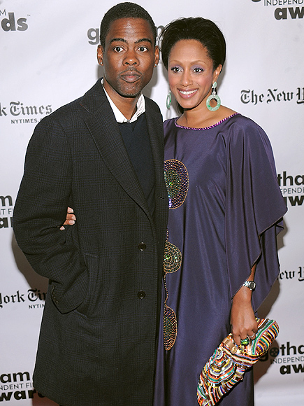 Chris Rock with beautiful, Wife Malaak Compton