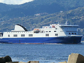 Greek Ferry Catches Fire in Stormy Seas