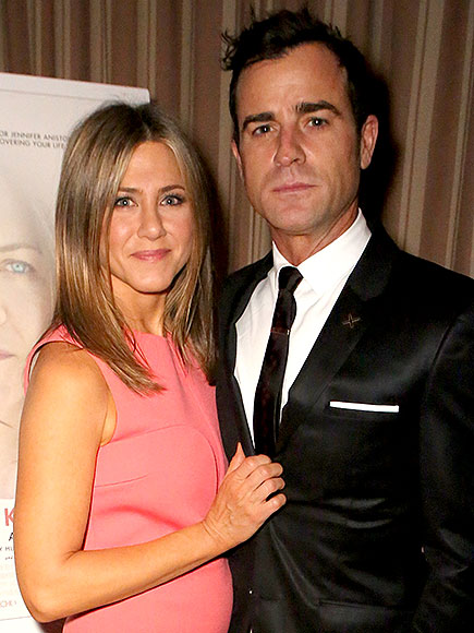 WHEN HE ADMITTED HOW HARD IT IS TO BE AWAY FROM HER photo | Jennifer Aniston, Justin Theroux