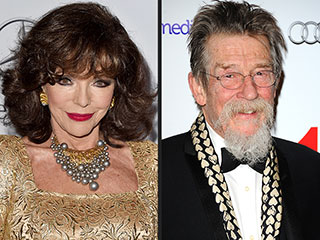 Joan Collins and John Hurt Honored by Queen Elizabeth II | Joan Collins, John Hurt