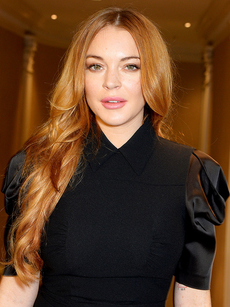 Lindsay Lohan Parties in Paris Days Before Court Date ... Lindsay Lohan