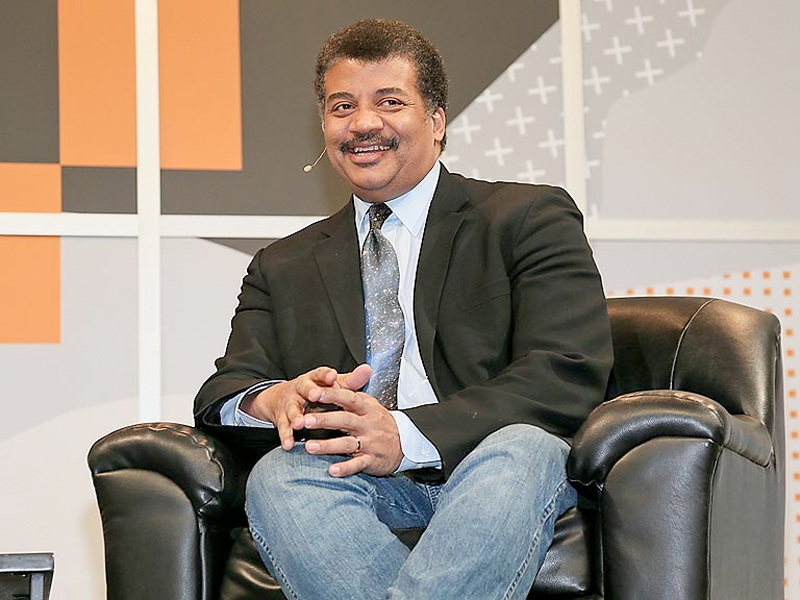 Neil deGrasse Tyson Is Happy to Be a Nerd Sex Symbol