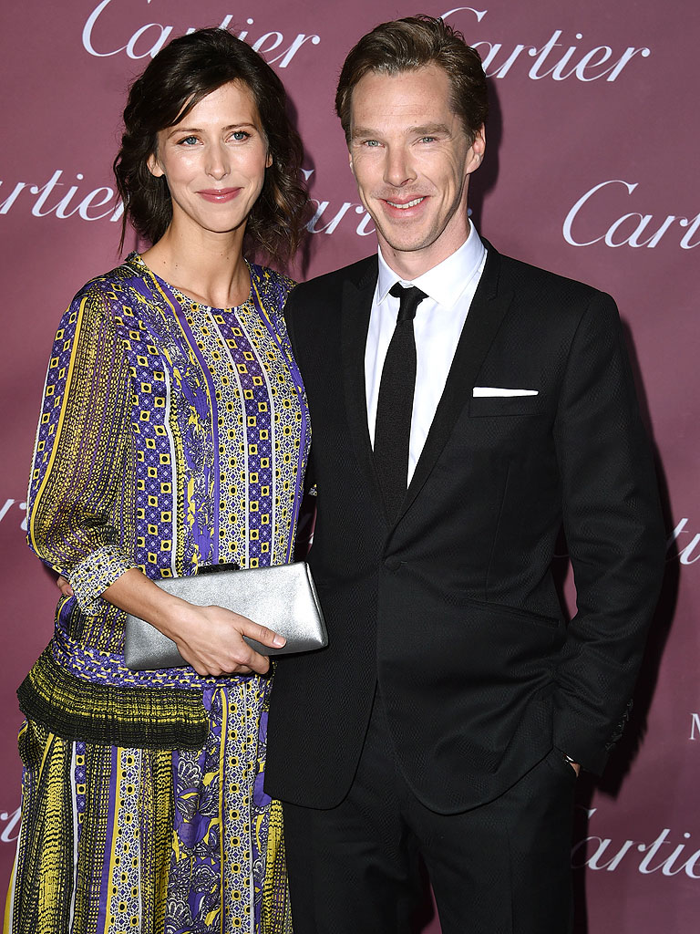who is benedict cumberbatchs wife sophie hunter