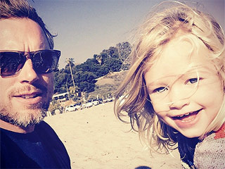 Aww! Jessica Simpson's Daughter Has a Blast at the Beach