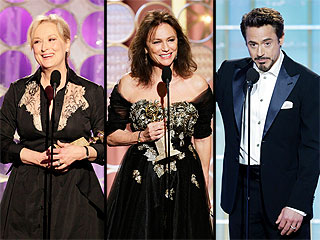 Quotable Globes: 12 of the Funniest, Strangest Highlights from Golden Globe Speeches