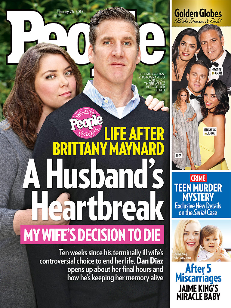 Brittany Maynard's Final Hours: Husband Dan Diaz Says She 'Knew It Was Time'| Suicide and Attempts, Cancer, Health, Real People Stories, Brittany Maynard