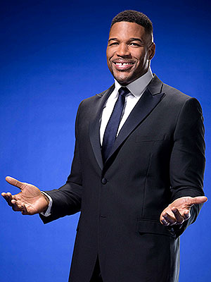 Michael Strahan Critics Choice Movie Awards
