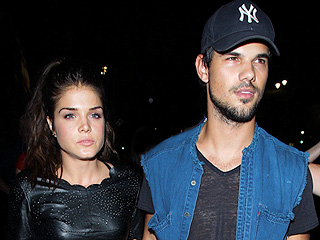 Taylor Lautner and Marie Avgeropoulous Split