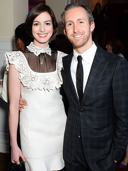 Anne Hathaway and husband