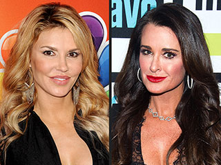 RHOBH: Brandi Glanville and Kyle Richards 'Get Physical' at 'the Party from Hell' | Brandi Glanville, Kyle Richards