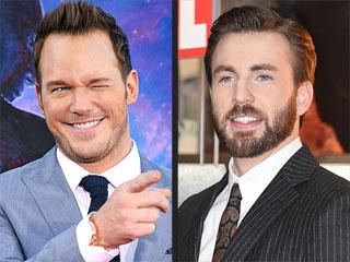 Chris Evans and Chris Pratt Made the Best Super Bowl Bet Ever
