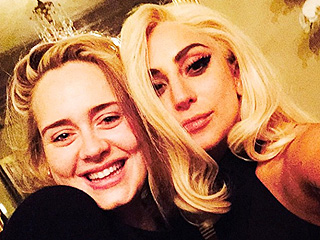 Lady Gaga and Adele Snap Epic Selfie