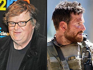 Michael Moore Calls Snipers 'Cowards' Following American Sniper's Success | Bradley Cooper, Michael Moore