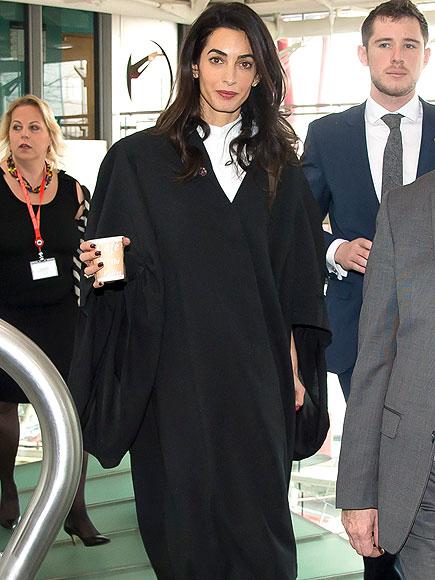 Amal Clooney Representing Armenia in Genocide Trial