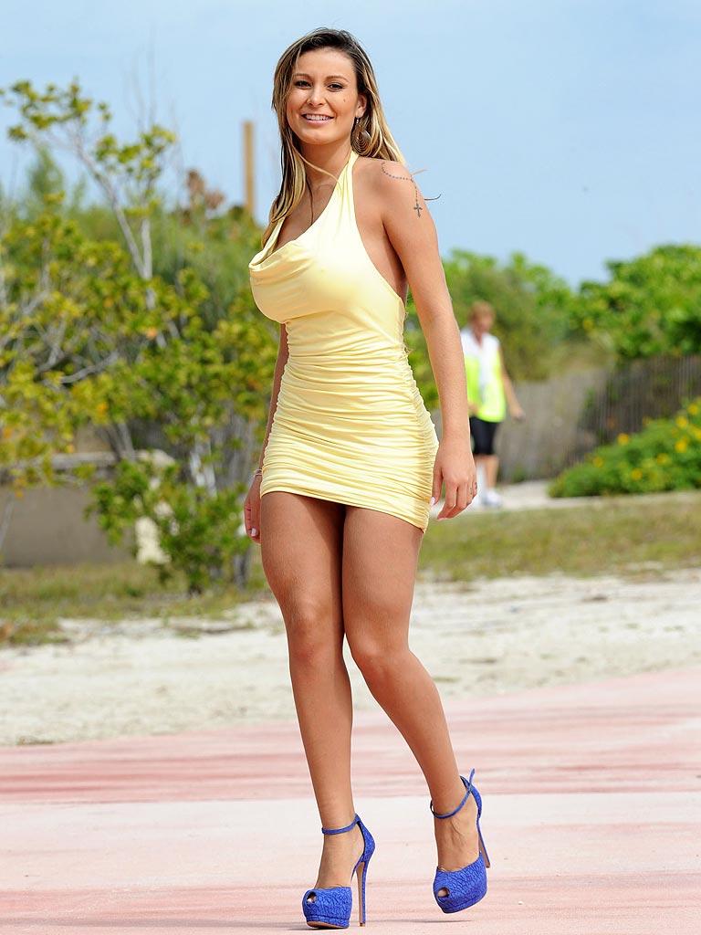 Busty Brazilian Model Nude