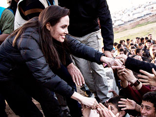 Angelina Jolie: 'I Have Seen Nothing Like the Suffering I'm Witnessing Now' in Refugee Camps | Angelina Jolie