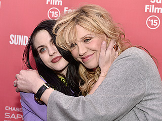 Courtney Love and Frances Bean Cobain Share a Hug at Sundance