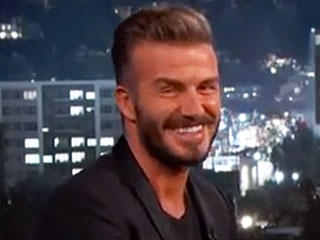 David Beckham on His Kids: 'I'm Literally an Uber Driver Now' (VIDEO)