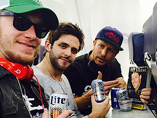 Who's Getting 'Drunk on a Plane' on the Way to the Super Bowl? These Guys!