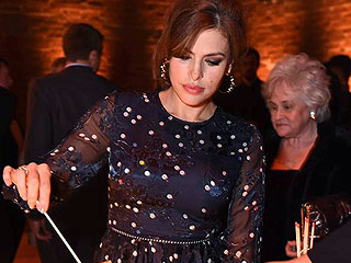 Eva Mendes Steps Out Post-Baby at Charity Event: See Her Glamorous Look!