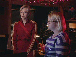 VIDEO: Sue Has Something to Show Becky on Glee – and It's a Tad Creepy