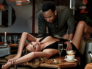 Chrissy Teigen and John Legend in Their Steamiest Photo Shoot Yet (PHOTOS)