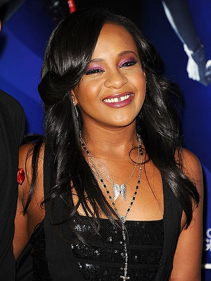 Bobbi Kristina Brown's Family Gathering at Hospital