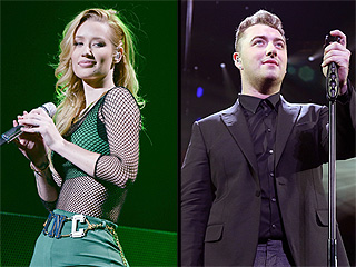 Iggy Azalea, Sam Smith Lead Pack for 2015 iHeartRadio Music Awards