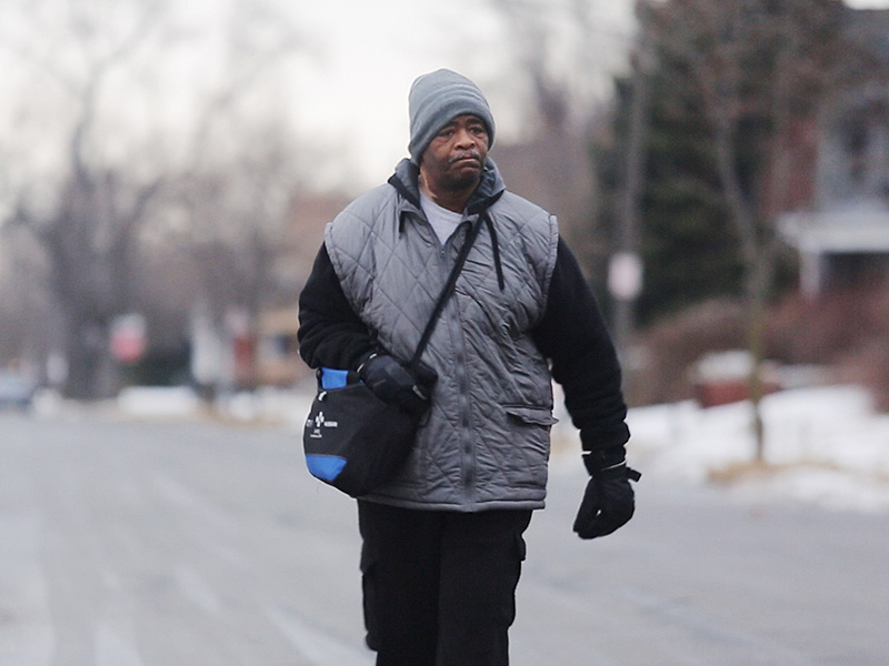 Detroit Man Who Walks 21 Miles a Day to Work 'So Grateful' More Than $149,000 Is Raised for Him| Good Deeds, Real People Stories