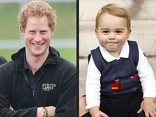 Prince Harry Wants Prince George to Run a Marathon (He's Only Joking) | Prince George, Prince Harry