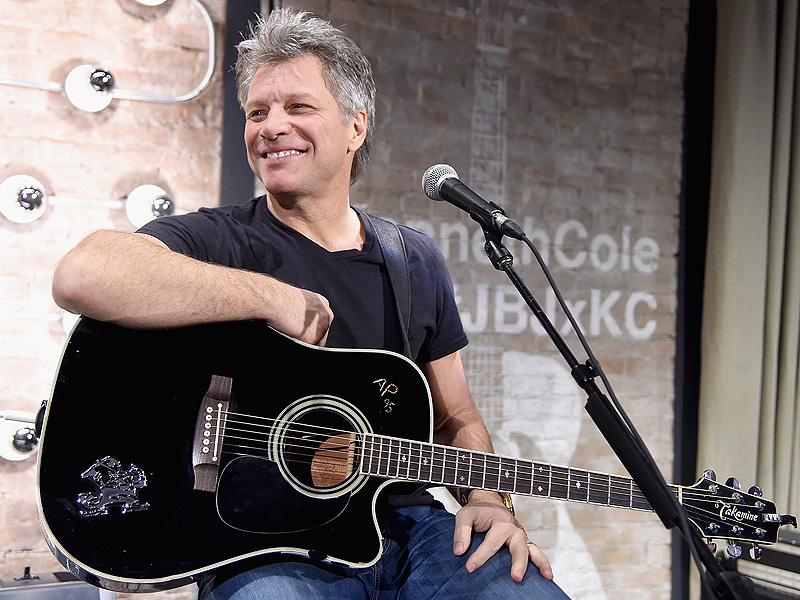 Jon Bon Jovi Talks About His 25-Year Marriage