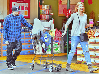 Newlyweds Cameron Diaz and Benji Madden Are the Picture of Domesticity | Benji Madden, Cameron Diaz